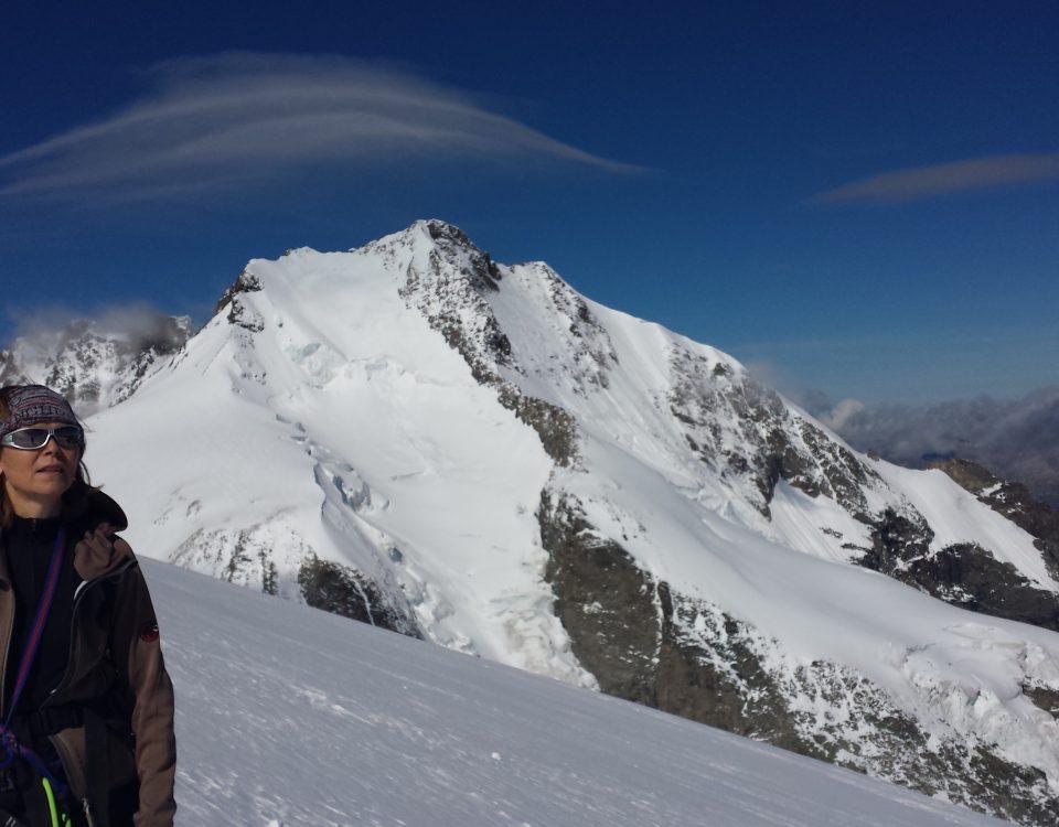 Föhnwolke über der Bernina